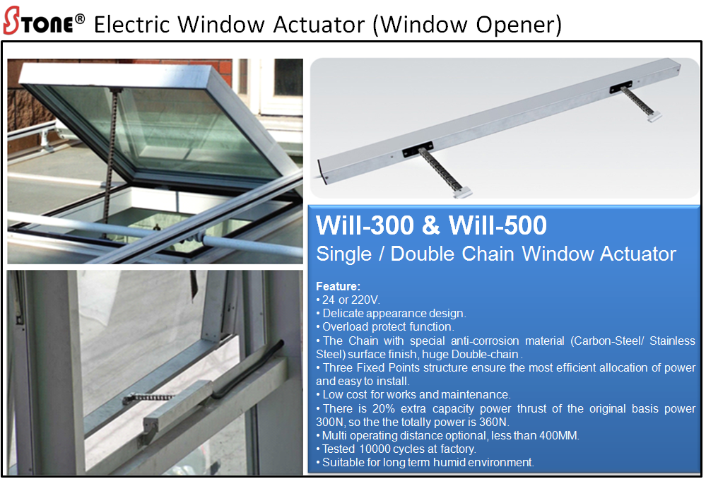 Buy Window Actuator Window Opener By Stonetech System